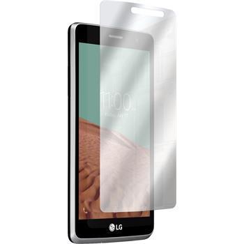 8 x LG L Bello II Protection Film Mirror