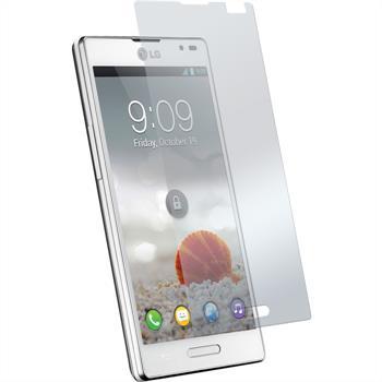 8 x LG Optimus L9 Displayschutzfolie matt