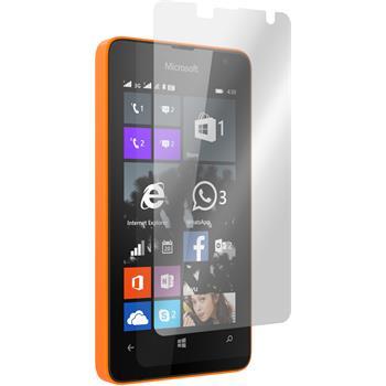 8 x Lumia 430 Dual Schutzfolie klar