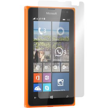 8 x Lumia 532 Schutzfolie matt