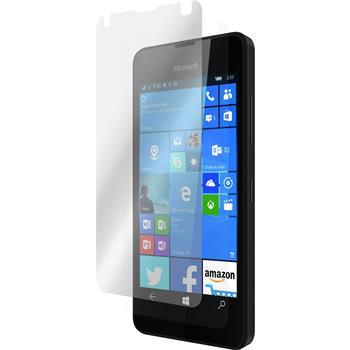 8 x Microsoft Lumia 550 Protection Film clear