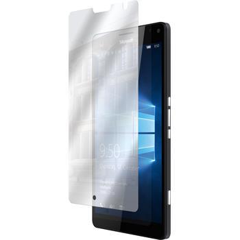8 x Lumia 950 XL Schutzfolie verspiegelt