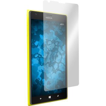 8 x Nokia Lumia 1520 Schutzfolie klar