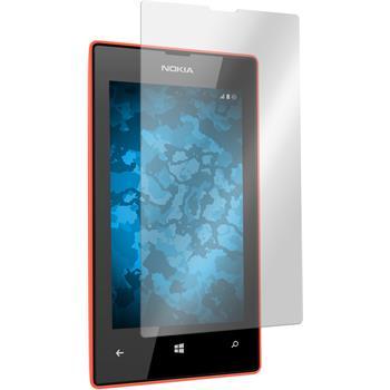 8 x Nokia Lumia 525 Schutzfolie klar