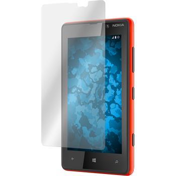 8 x Lumia 820 Schutzfolie klar
