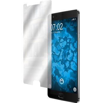 8 x OnePlus 3 Schutzfolie verspiegelt