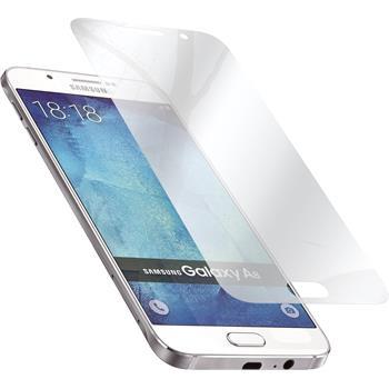 8 x Galaxy A8 Schutzfolie verspiegelt