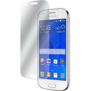 8 x Samsung Galaxy Ace 4 Displayschutzfolie matt