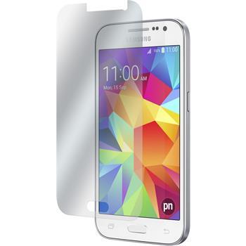8 x Galaxy Core Prime Schutzfolie klar