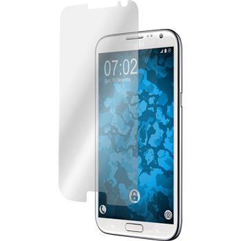 8 x Galaxy Note 2 Schutzfolie klar