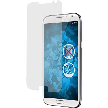 8 x Galaxy Note 2 Schutzfolie matt