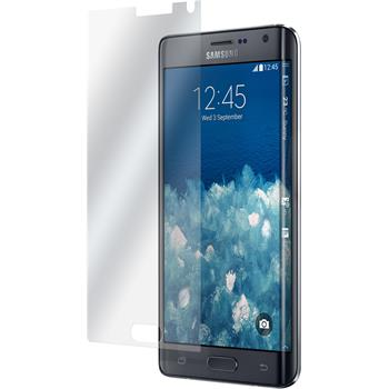 8 x Galaxy Note Edge Schutzfolie matt