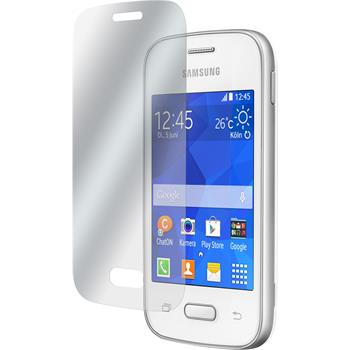 8 x Galaxy Pocket 2 Schutzfolie klar
