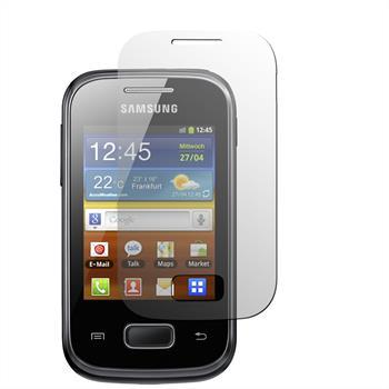 8 x Galaxy Pocket Schutzfolie klar