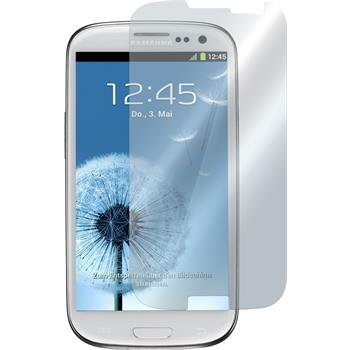 8 x Samsung Galaxy S3 Protection Film Mirror