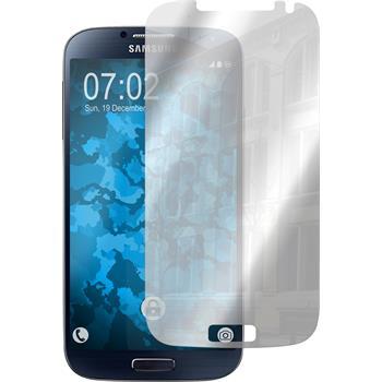 8 x Samsung Galaxy S4 Displayschutzfolie verspiegelt