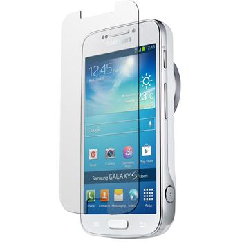 8 x Galaxy S4 Zoom Schutzfolie klar