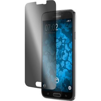 8 x Galaxy S5 Schutzfolie Privacy