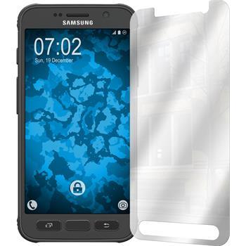 8 x Galaxy S7 Active Schutzfolie verspiegelt
