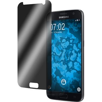 8 x Galaxy S7 Schutzfolie Privacy