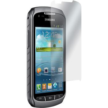 8 x Galaxy Xcover 2 Schutzfolie matt
