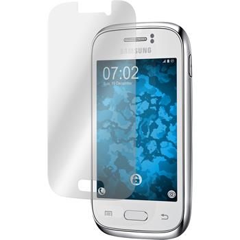 8 x Samsung Galaxy Young Protection Film Clear