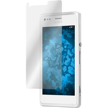 8 x Sony Xperia M Protection Film Clear