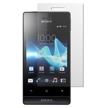 8 x Sony Xperia miro Protection Film Clear