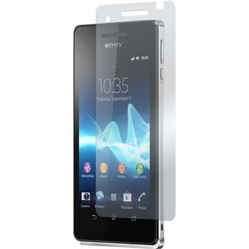 8 x Sony Xperia V Protection Film Clear