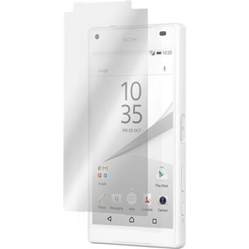 8 x Sony Xperia Z5 compact Protection Film clear