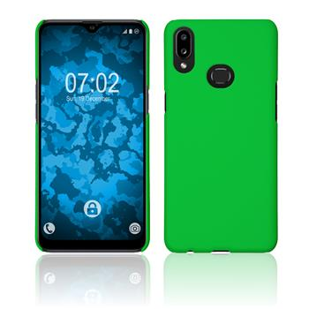 Hardcase Galaxy A10s rubberized green Cover