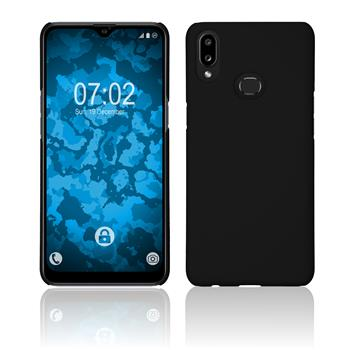 Hardcase Galaxy A10s rubberized black Cover