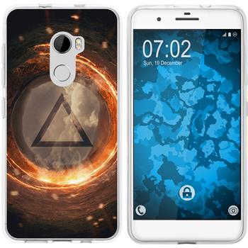 HTC X10 Silicone Case Element fire M3