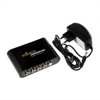 Konverter | YPbPr zu HDMI | Audio-IN