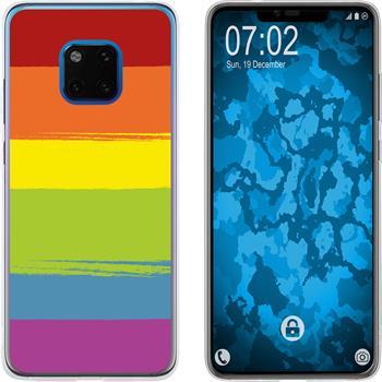 Huawei Mate 20 Pro Silicone Case pride M6