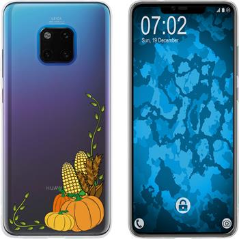 Huawei Mate 20 Pro Silicone Case autumn M5