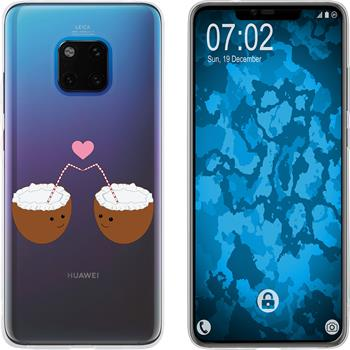 Huawei Mate 20 Pro Silicone Case summer M3