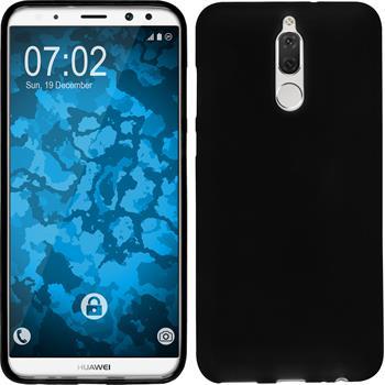 Silicone Case Mate 10 Lite matt black Case