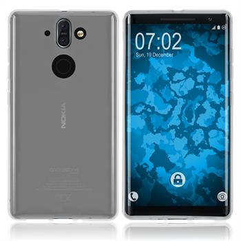 Silicone Case Nokia 8 Sirocco transparent Crystal Clear Case