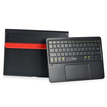 Sharon Touchpad-Tastatur und Tasche | Tastatur abnehmbar Samsung Galaxy Tab 4 10