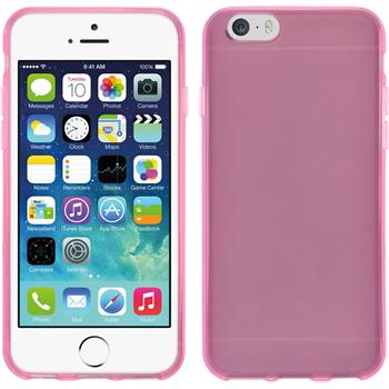 Silicone Case for Apple iPhone 5c transparent pink