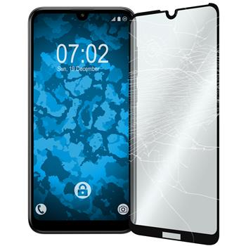 2 x Y7 Pro 2019 (Enjoy 9) Protection Film Tempered Glass clear full screen black