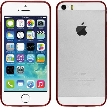Alu Frame für Apple iPhone 5 / 5s / SE  rot
