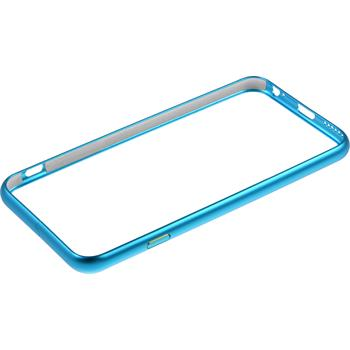 Alu Frame für Apple iPhone 6s / 6  hellblau
