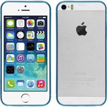 Aluminium Frame for Apple iPhone 5 / 5s  light blue