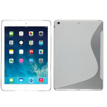 Silicone Case for Apple iPad Air S-Style transparent