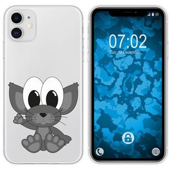 Apple iPhone 11 Silicone Case Cutiemals M5