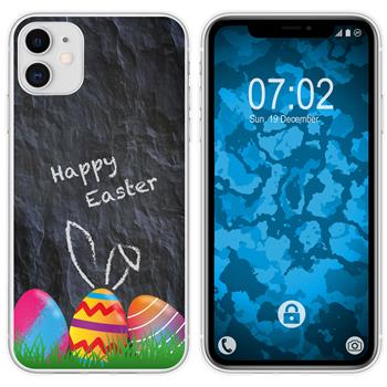 Apple iPhone 11 Silicone Case Easter M6