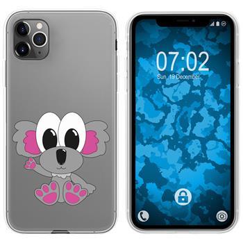 Apple iPhone 11 Pro Max Silicone Case Cutiemals M6