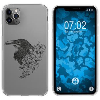 Apple iPhone 11 Pro Silicone Case floral M4-1